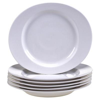 "Certified International Ellipse Set of 6 Salad Plate 9.75"" x 8.5"""
