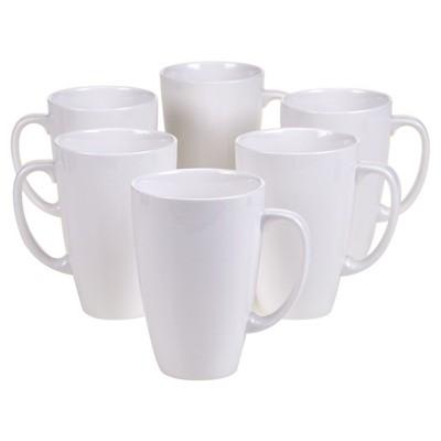 Certified International Ellipse Set of 6 Mug 15 oz.