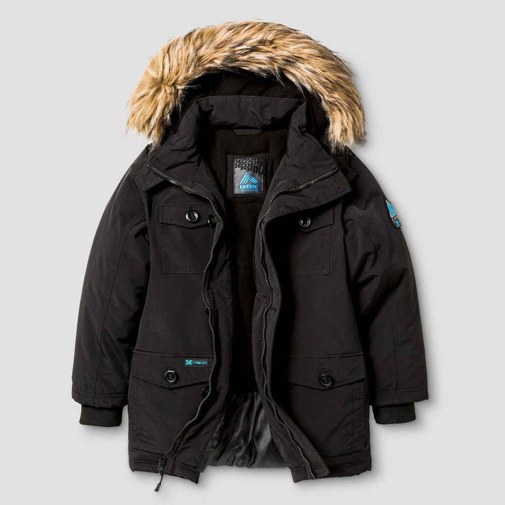 Parkas Rbx S Black, Boy's, Size: Small