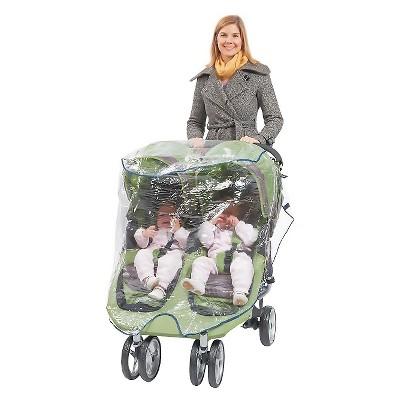 Babyroues  Universal Double Jogger Stroller Rain cover