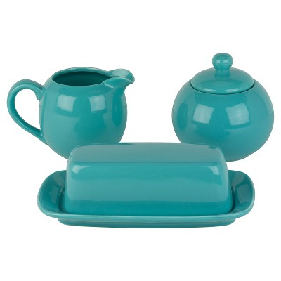 10 Strawberry Street Accessory Set 5-pc. - Turquoise