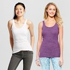 Women's Long & Lean Tank Collection - Mossimo...
