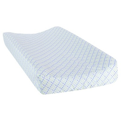 Trend Lab Plaid Changing Pad Cover - Forest Tales