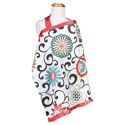 Waverly Baby® by Trend Lab Pom Pom Play Nursing Cover - Floral