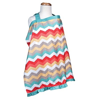 Waverly Baby® by Trend Lab Pom Pom Play Nursing Cover - Chevron