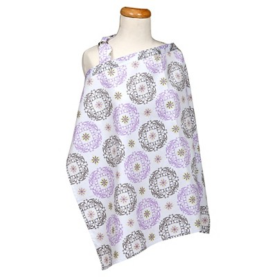Trend Lab Florence Nursing Cover - Lilac