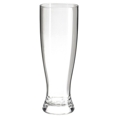 Felli 20oz Acrylic Single Wall Pilsner - Set of 6