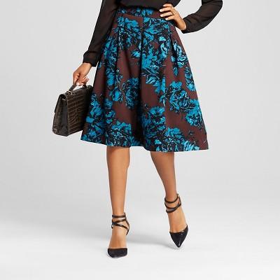 Womens Floral Skirt