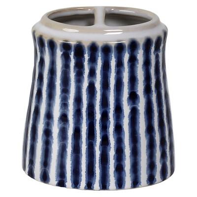 Waterfall Toothbrush Holder Blue/White - Saturday Knight Ltd.