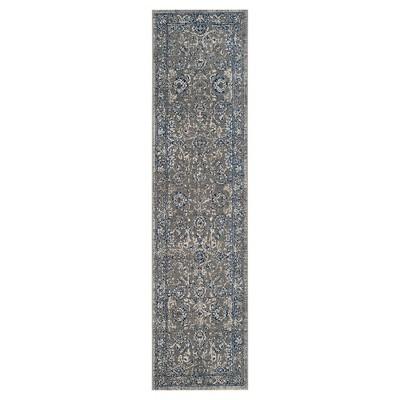 "Artisan Rug - Dark Grey/Blue - (2'2""x8') - Safavieh"