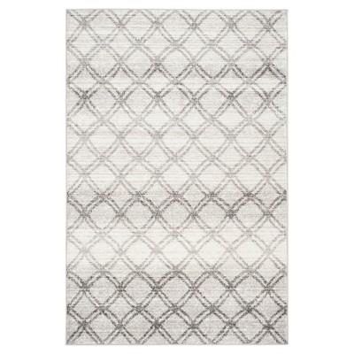 "Adirondack Rug - Silver/Charcoal - (5'1""x7'6"") - Safavieh"