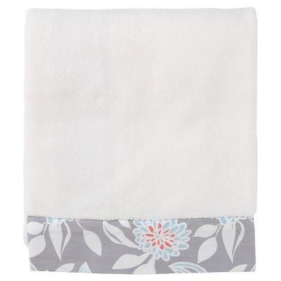 Balboa Baby Simply Soft Blanket - Gray Dahlia