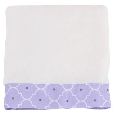 Balboa Baby Simply Soft Blanket - Lavender Trellis
