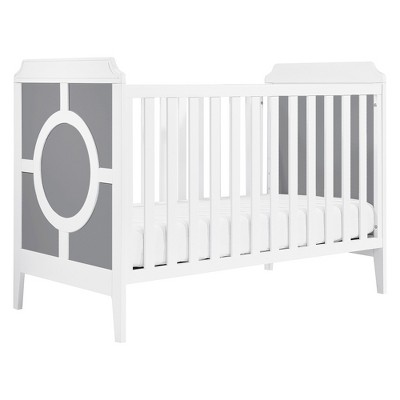 DaVinci Poppy Regency 3-in-1 Convertible Crib - Gray