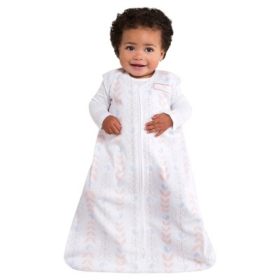 HALO ® SleepSack® Wearable Blanket 100% Cotton - Soft Pink Bird Life - MD