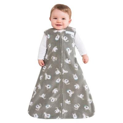 HALO ® SleepSack® Wearable Blanket Fleece - Gray Pooch - LG