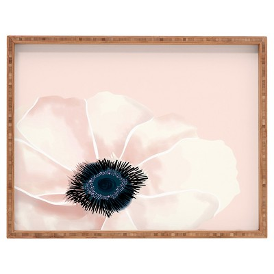 DENY Designs - Khristian A Howell Fleur In Pink Tray