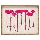 DENY Designs - Garima Dhawan Carnations Pink Tray