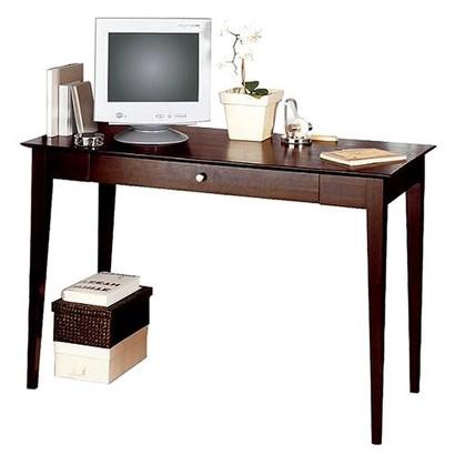 Linon Dolce Desk- Dark Walnut
