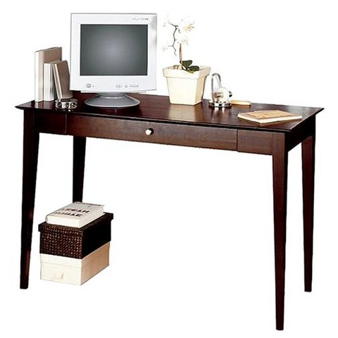 Linon Dolce Desk- Dark Walnut