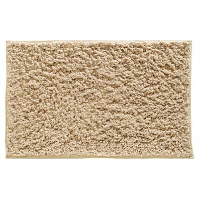 "Fuzi Bath Rug Wheat (34""x21"") - InterDesign®"