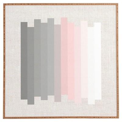 "DENY Designs Iveta Abolina Silver Lining Framed Wall Art 12x12"""