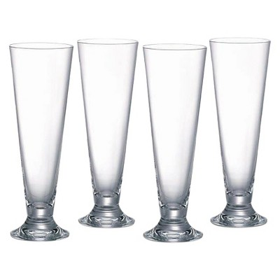 Marquis By Waterford Vintage 20oz Pilsner Glasses - Set of 4
