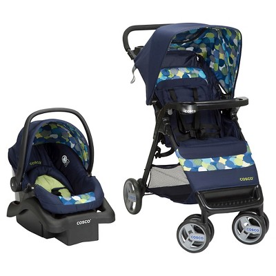 Cosco Simple Fold Travel System in Comet