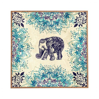 DENY Designs Rosebudstudio Wild Heart Framed Wall Art 20x20""
