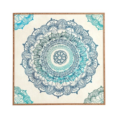DENY Designs Rosebudstudio Mandala Framed Wall Art 12x12""
