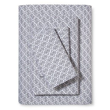 Black & White Dot Diamond Sheet Set - Xhilaration™