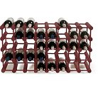 40 Modular Bottle Wine Rack  Natural Wood  - The Wine Enthusiasts