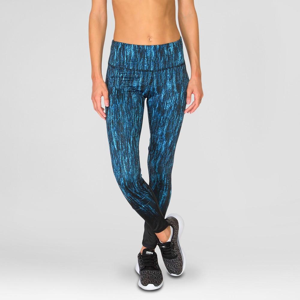 Women's Stalactites Print Leggings Cool Blue M - Rbx, Size: Medium