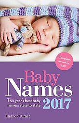 Baby Names 2017 ( Baby Names) (Paperback)