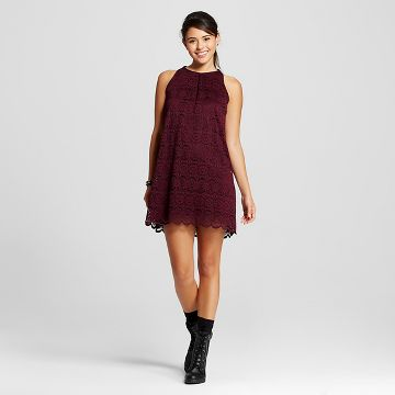 Juniors Red Dress : Target