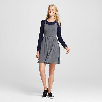 Womens Gray Knit Dress : Target