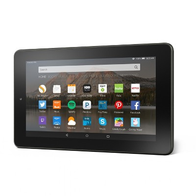 """Amazon Fire Tablet, 7"""" Display, Wi-Fi, 16 GB, Special Offers - Black"""