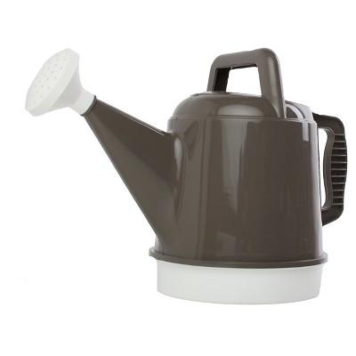 Bloem 2.5 Gallon Deluxe Watering Can Peppercorn