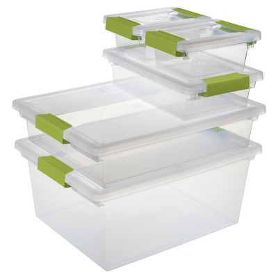 Sterilite® Clip Box Multipack Set