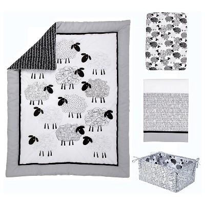 NoJo® Good Night Sheep 4pc Crib Bedding Set