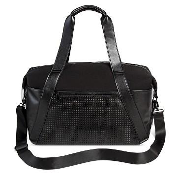 Women's Black Neoprene Athlesiure Weekender Bag - Mossimo Supply Co.™