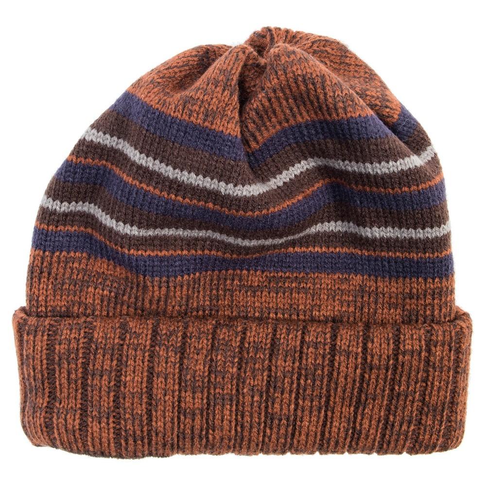 Men's Ribbed Cuff Cap - Brown