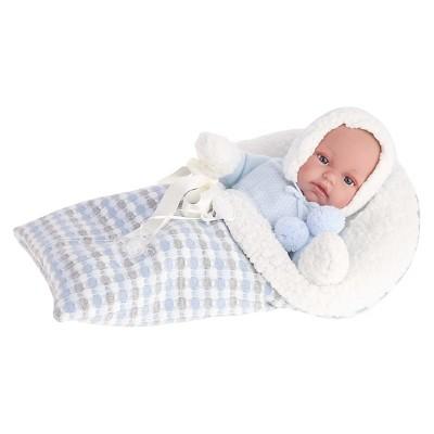 "Antonio Juan Tonet 13.5"" Baby Boy Doll With Sleeping Bag"