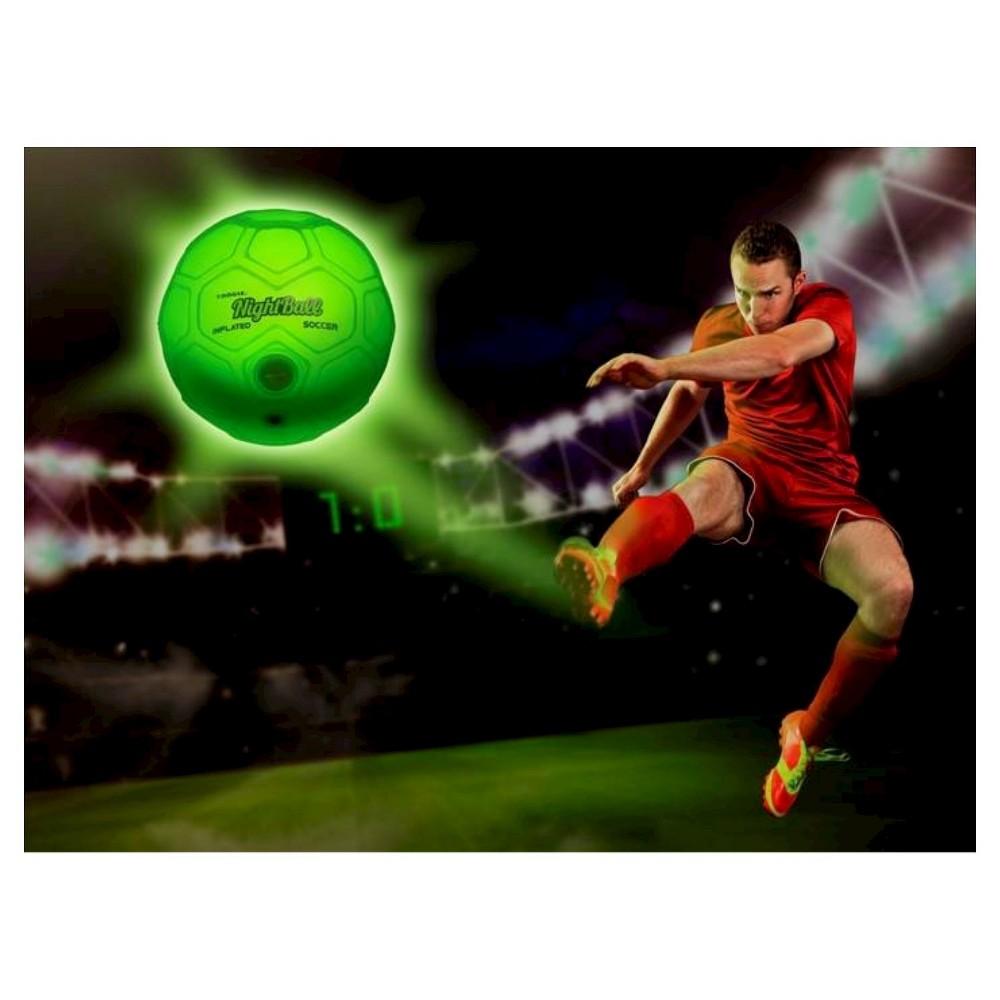 Tangle NightBall Soccer - Large, Green