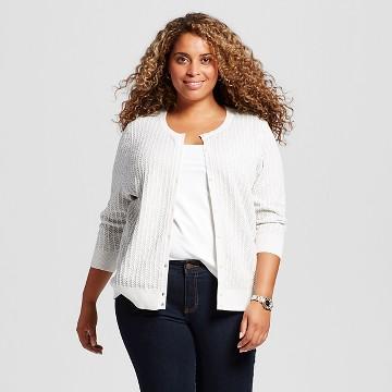 White Cardigan Sweater Target 94