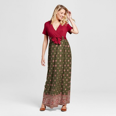 Short Sleeved Maxi Dresses