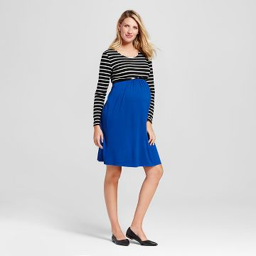 Long Sleeve Stripe Dress : Target