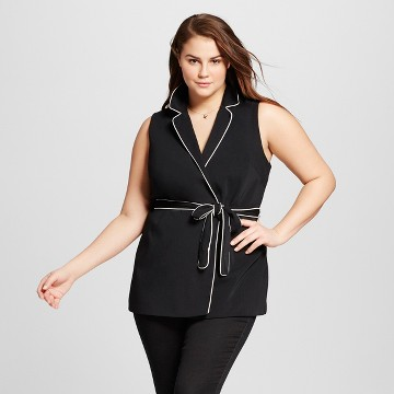 Women's Plus Size Pajama Vest - Who What Wear ™