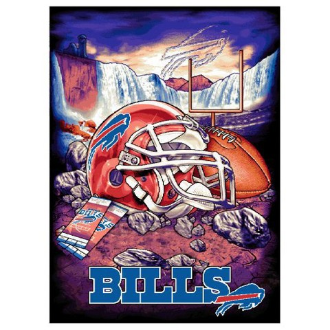 Buffalo Bills Woven Tapestry Throw