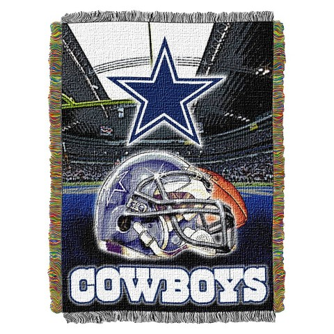 Dallas Cowboys Woven Tapestry Throw